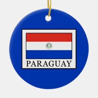 Paraguay Ceramic Ornament