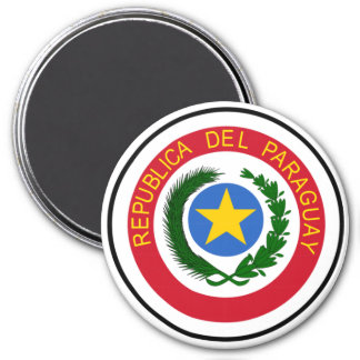Paraguay Coat of Arms Magnet