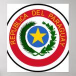 Paraguay Coat Of Arms Print