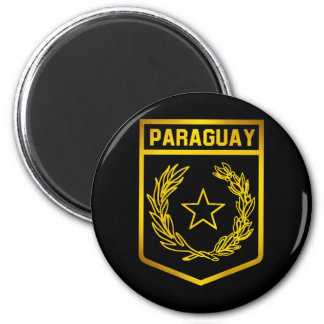 Paraguay Emblem Magnet