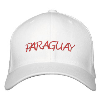 Paraguay Embroidered Hat