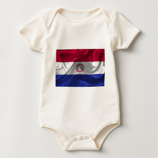 paraguay-Flag Baby Bodysuit