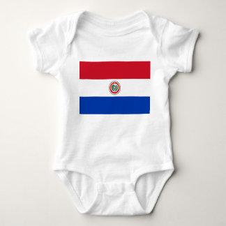Paraguay Flag Baby Bodysuit