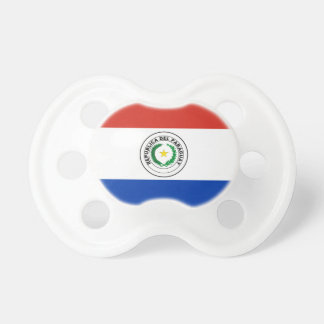 Paraguay Flag Baby Pacifier