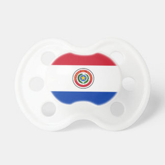 Paraguay Flag Baby Pacifiers