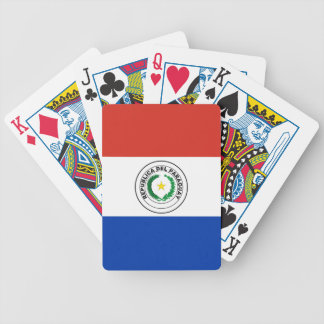 Paraguay Flag Bicycle Playing Cards