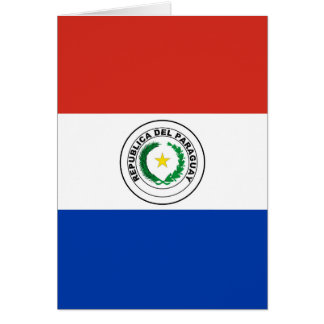 Paraguay Flag Card