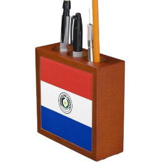 Paraguay Flag Desk Organizer