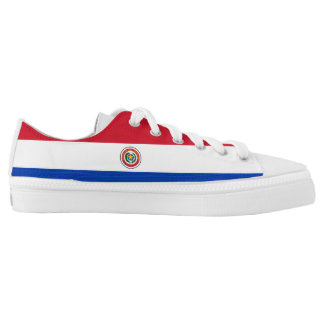 Paraguay Flag Low-Top Sneakers