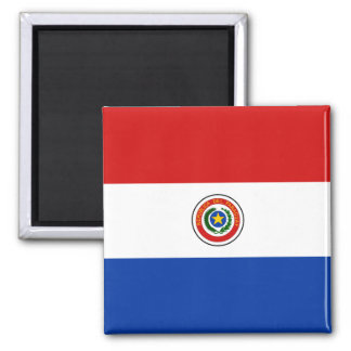 Paraguay Flag Magnet