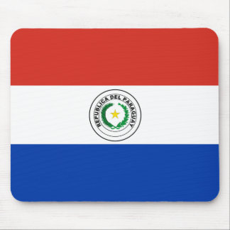 Paraguay Flag Mouse Pad
