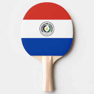 Paraguay Flag Ping Pong Paddle