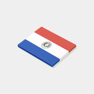 Paraguay Flag Post-it Notes