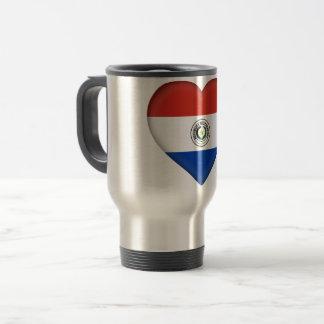Paraguay Flag Travel Mug