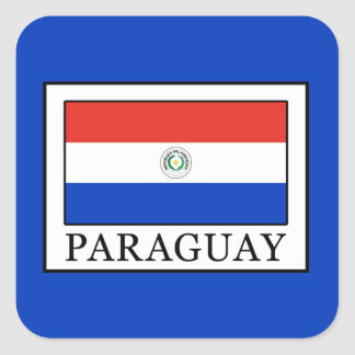 Paraguay Square Sticker