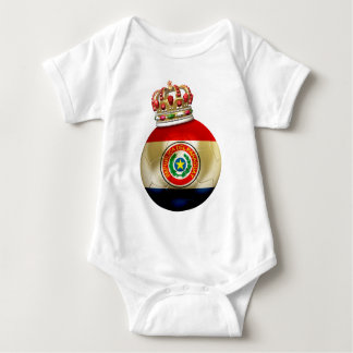 Paraguay World Champion Baby Bodysuit