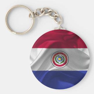 Paraguayan flag keychain