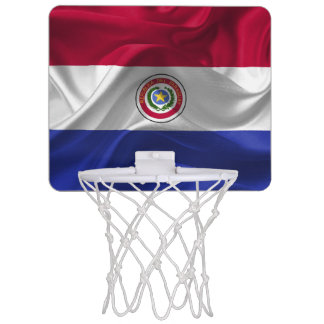 Paraguayan flag mini basketball hoop