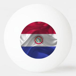 Paraguayan flag ping pong ball