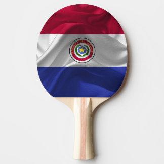 Paraguayan flag ping pong paddle