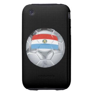 Paraguayian Soccer Ball Tough iPhone 3 Cover
