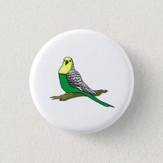 Parakeet 1 Inch Round Button