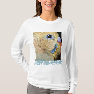Parakeet Art T-shirt by Mary Hughes