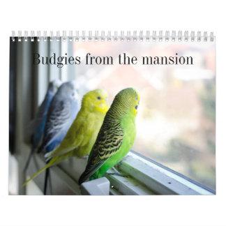 Parakeet calendar