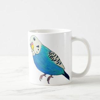 Parakeet Drawing Coffee Mug