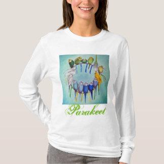 Parakeet Dream Catcher T-shirt Art Hughes