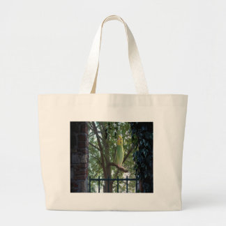 Parakeet Large Tote Bag