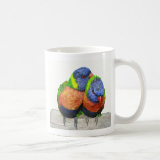 Parakeet Love Birds Coffee Mug