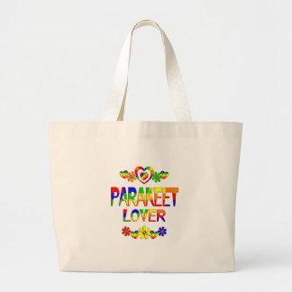 Parakeet Lover Large Tote Bag