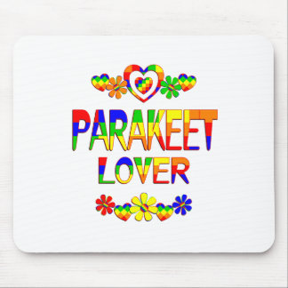 Parakeet Lover Mouse Pad