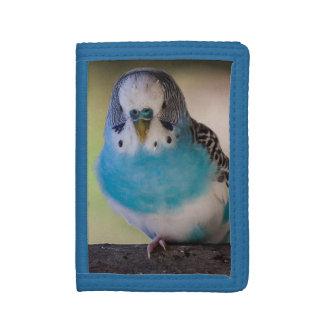 Parakeet Parrot Money TriFold Nylon Wallet
