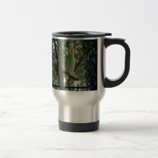 Parakeet Travel Mug