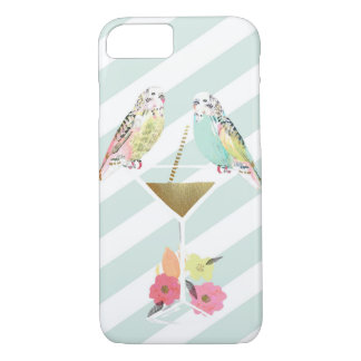 Parakeets & Cocktail iPhone 7 Case