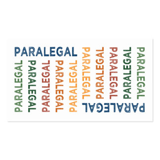Paralegal business cards and business card templates for Paralegal business cards