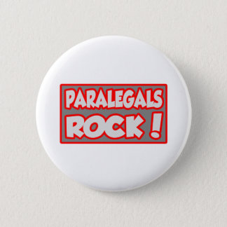 Paralegals Rock! 2 Inch Round Button