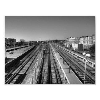 Parallel Lines Photo Print