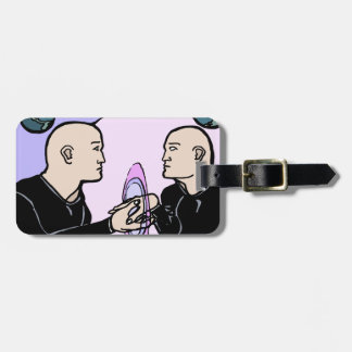 Parallel Self Luggage Tag