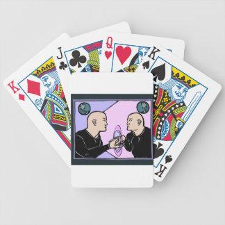 Parallel Self Poker Deck