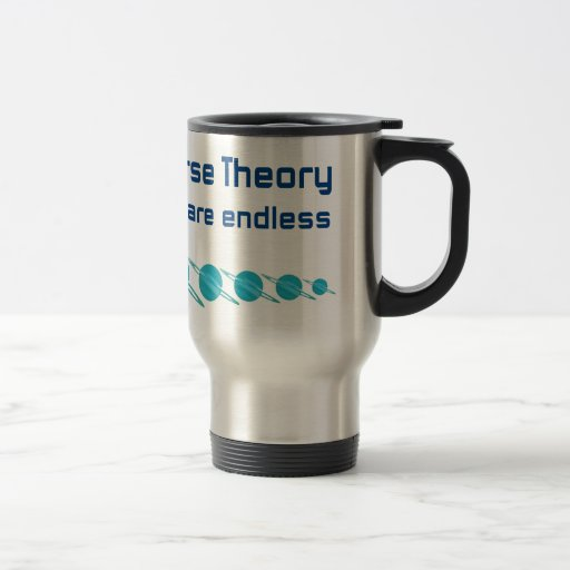 Parallel Universe Theory 15 Oz Stainless Steel Travel Mug