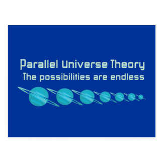 Parallel Universe Theory Postcards
