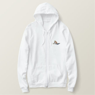 Paralympic Skier Embroidered Hoodie