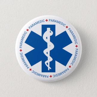 Paramedic 2 Inch Round Button