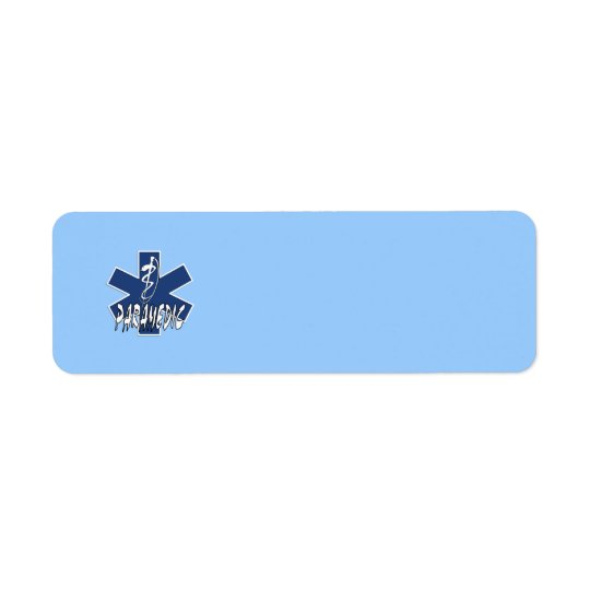 Paramedic Action Return Address Label