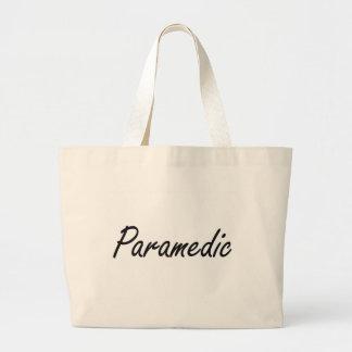Paramedic Artistic Job Design Jumbo Tote Bag