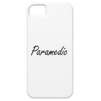 Paramedic Artistic Job Design iPhone 5 Case