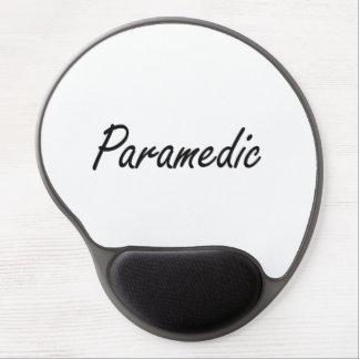Paramedic Artistic Job Design Gel Mouse Pad
